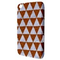 TRIANGLE3 WHITE MARBLE & RUSTED METAL Samsung Galaxy Tab 3 (8 ) T3100 Hardshell Case  View3