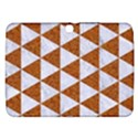 TRIANGLE3 WHITE MARBLE & RUSTED METAL Samsung Galaxy Tab 3 (10.1 ) P5200 Hardshell Case  View1