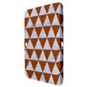 TRIANGLE3 WHITE MARBLE & RUSTED METAL Samsung Galaxy Tab 3 (10.1 ) P5200 Hardshell Case  View3