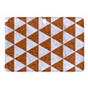 TRIANGLE3 WHITE MARBLE & RUSTED METAL Samsung Galaxy Tab Pro 10.1 Hardshell Case View1
