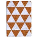 TRIANGLE3 WHITE MARBLE & RUSTED METAL iPad Mini 2 Flip Cases View1
