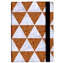 TRIANGLE3 WHITE MARBLE & RUSTED METAL iPad Mini 2 Flip Cases View2