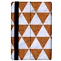 TRIANGLE3 WHITE MARBLE & RUSTED METAL iPad Mini 2 Flip Cases View4