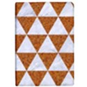 TRIANGLE3 WHITE MARBLE & RUSTED METAL iPad Air Flip View1