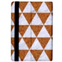 TRIANGLE3 WHITE MARBLE & RUSTED METAL iPad Air Flip View4