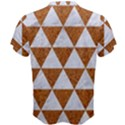 TRIANGLE3 WHITE MARBLE & RUSTED METAL Men s Cotton Tee View2