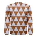 TRIANGLE3 WHITE MARBLE & RUSTED METAL Men s Long Sleeve Tee View2
