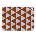 TRIANGLE3 WHITE MARBLE & RUSTED METAL iPad Air 2 Hardshell Cases View1