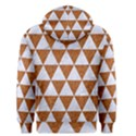 TRIANGLE3 WHITE MARBLE & RUSTED METAL Men s Pullover Hoodie View2