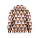 TRIANGLE3 WHITE MARBLE & RUSTED METAL Kids  Pullover Hoodie View2