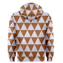 TRIANGLE3 WHITE MARBLE & RUSTED METAL Men s Zipper Hoodie View2