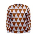 TRIANGLE3 WHITE MARBLE & RUSTED METAL Women s Sweatshirt View1