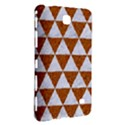 TRIANGLE3 WHITE MARBLE & RUSTED METAL Samsung Galaxy Tab 4 (8 ) Hardshell Case  View3