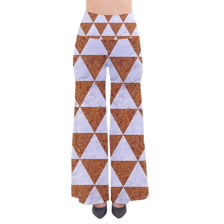 TRIANGLE3 WHITE MARBLE & RUSTED METAL Pants