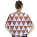 TRIANGLE3 WHITE MARBLE & RUSTED METAL Blouse View2