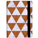 TRIANGLE3 WHITE MARBLE & RUSTED METAL Apple iPad Pro 12.9   Flip Case View2