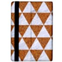 TRIANGLE3 WHITE MARBLE & RUSTED METAL Apple iPad Pro 12.9   Flip Case View4