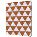 TRIANGLE3 WHITE MARBLE & RUSTED METAL Apple iPad Pro 12.9   Hardshell Case View3