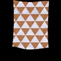 TRIANGLE3 WHITE MARBLE & RUSTED METAL Large Tapestry View2