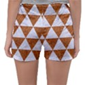 TRIANGLE3 WHITE MARBLE & RUSTED METAL Sleepwear Shorts View2