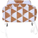 TRIANGLE3 WHITE MARBLE & RUSTED METAL Full Print Backpack View4