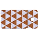 TRIANGLE3 WHITE MARBLE & RUSTED METAL Samsung C9 Pro Hardshell Case  View1