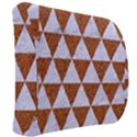 TRIANGLE3 WHITE MARBLE & RUSTED METAL Back Support Cushion View2