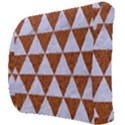 TRIANGLE3 WHITE MARBLE & RUSTED METAL Back Support Cushion View3