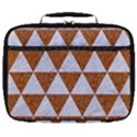 TRIANGLE3 WHITE MARBLE & RUSTED METAL Full Print Lunch Bag View1