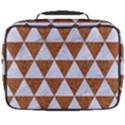 TRIANGLE3 WHITE MARBLE & RUSTED METAL Full Print Lunch Bag View2