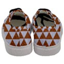 TRIANGLE3 WHITE MARBLE & RUSTED METAL Men s Classic Low Top Sneakers View4