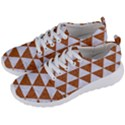 TRIANGLE3 WHITE MARBLE & RUSTED METAL Men s Lightweight Sports Shoes View2