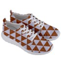 TRIANGLE3 WHITE MARBLE & RUSTED METAL Men s Lightweight Sports Shoes View3