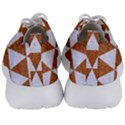 TRIANGLE3 WHITE MARBLE & RUSTED METAL Men s Lightweight Sports Shoes View4