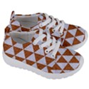 TRIANGLE3 WHITE MARBLE & RUSTED METAL Kids  Lightweight Sports Shoes View3