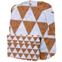 TRIANGLE3 WHITE MARBLE & RUSTED METAL Giant Full Print Backpack View4