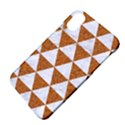 TRIANGLE3 WHITE MARBLE & RUSTED METAL Apple iPhone X Hardshell Case View4