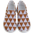 TRIANGLE3 WHITE MARBLE & RUSTED METAL Men s Lightweight Slip Ons View1