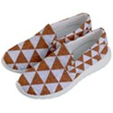 TRIANGLE3 WHITE MARBLE & RUSTED METAL Men s Lightweight Slip Ons View2