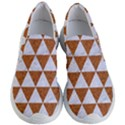 TRIANGLE3 WHITE MARBLE & RUSTED METAL Women s Lightweight Slip Ons View1