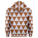 TRIANGLE3 WHITE MARBLE & RUSTED METAL Men s Overhead Hoodie View2