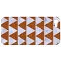 TRIANGLE2 WHITE MARBLE & RUSTED METAL Apple iPhone 5 Hardshell Case View1