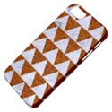 TRIANGLE2 WHITE MARBLE & RUSTED METAL Apple iPhone 5 Classic Hardshell Case View4