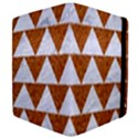 TRIANGLE2 WHITE MARBLE & RUSTED METAL Apple iPad 3/4 Flip Case View4