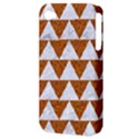 TRIANGLE2 WHITE MARBLE & RUSTED METAL Apple iPhone 4/4S Hardshell Case (PC+Silicone) View3