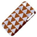 TRIANGLE2 WHITE MARBLE & RUSTED METAL Apple iPhone 4/4S Hardshell Case (PC+Silicone) View4