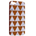 TRIANGLE2 WHITE MARBLE & RUSTED METAL Apple iPhone 5 Hardshell Case with Stand View2