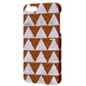 TRIANGLE2 WHITE MARBLE & RUSTED METAL Apple iPhone 5 Hardshell Case with Stand View3