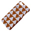 TRIANGLE2 WHITE MARBLE & RUSTED METAL Apple iPhone 5 Hardshell Case with Stand View4