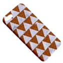 TRIANGLE2 WHITE MARBLE & RUSTED METAL Apple iPhone 5 Hardshell Case with Stand View5